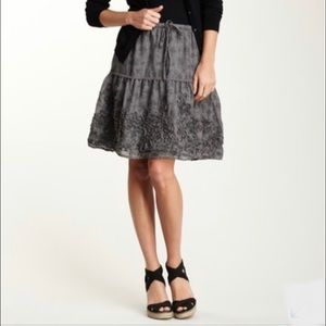 ❤️ TRUE GRIT ECO PRINT TIERED SKIRT
